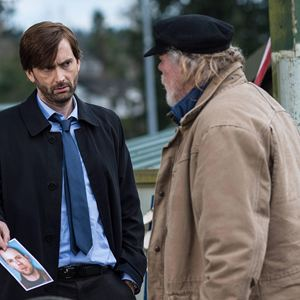 Bild David Tennant, Nick Nolte
