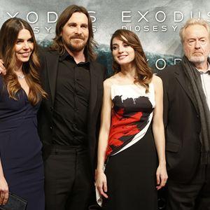 Exodus: Götter und Könige : Vignette (magazine) Christian Bale, María Valverde, Ridley Scott