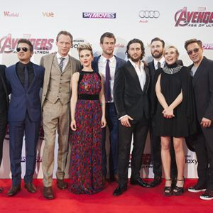 Avengers 2: Age Of Ultron : Bild Aaron Taylor-Johnson, Andy Serkis, Chris Evans, Chris Hemsworth, Elizabeth Olsen