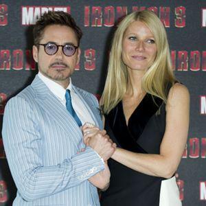 Iron Man 3 : Vignette (magazine) Gwyneth Paltrow, Robert Downey Jr.