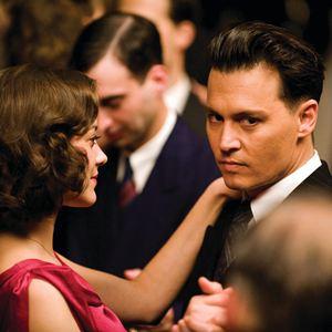 Public Enemies : Bild Johnny Depp, Marion Cotillard