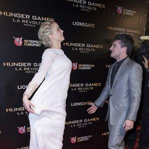 Die Tribute von Panem 4 - Mockingjay Teil 2 : Vignette (magazine) Jennifer Lawrence, Josh Hutcherson