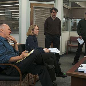 Spotlight : Bild Brian d'Arcy James, Mark Ruffalo, Michael Keaton, Rachel McAdams