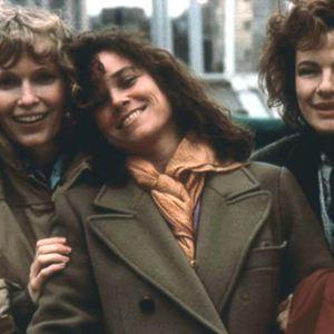 Hannah und ihre Schwestern : Bild Barbara Hershey, Dianne Wiest, Mia Farrow, Woody Allen