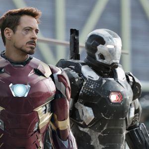 The First Avenger: Civil War : Bild Don Cheadle, Robert Downey Jr.