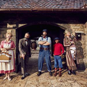 Jim Knopf und Lukas der Lokomotivführer : Bild Annette Frier, Christoph Maria Herbst, Henning Baum, Solomon Gordon, Uwe Ochsenknecht