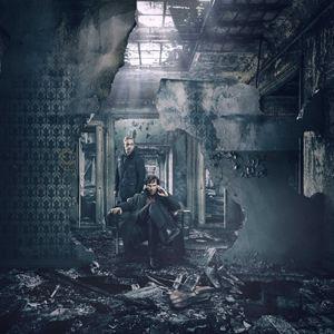 Bild Benedict Cumberbatch, Martin Freeman