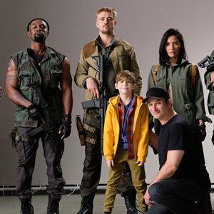 Predator : Bild Boyd Holbrook, Jacob Tremblay, Keegan-Michael Key, Olivia Munn, Shane Black