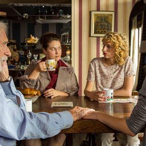 Monsieur Pierre geht online : Bild Fanny Valette, Pierre Richard, Stéphane Bissot, Stéphanie Crayencour