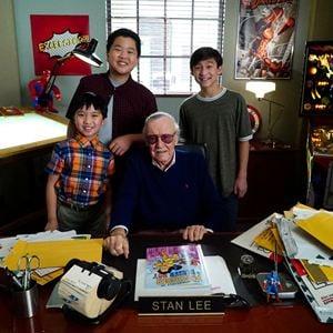Bild Hudson Yang, Ian Chen, Stan Lee