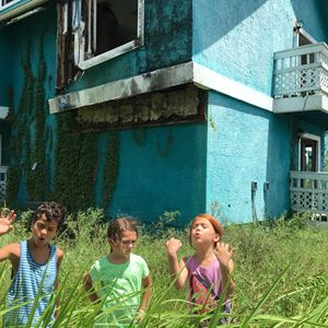 The Florida Project : Bild Brooklynn Prince, Christopher Rivera, Valeria Cotto