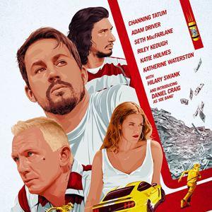 Logan Lucky : Kinoposter