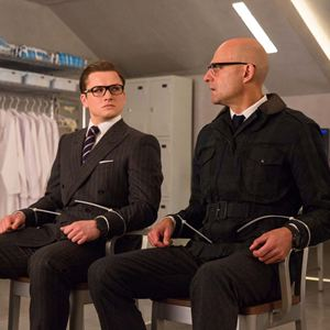 Kingsman 2: The Golden Circle : Bild Mark Strong, Taron Egerton