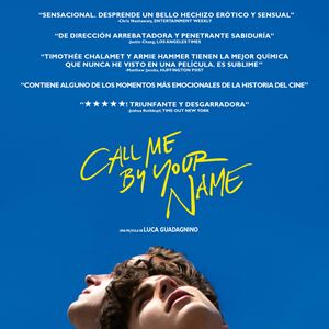 Call Me By Your Name : Kinoposter