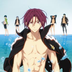 Free! - Timeless Medley #2 : Kinoposter