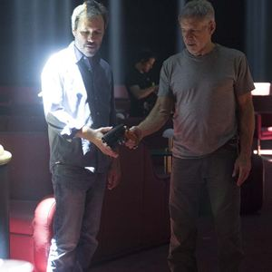 Blade Runner 2049 : Bild Denis Villeneuve, Harrison Ford