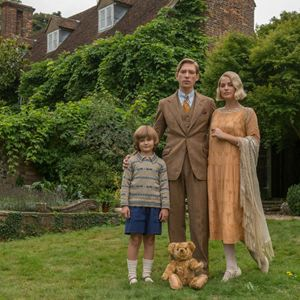 Goodbye Christopher Robin : Bild Domhnall Gleeson, Margot Robbie, Will Tilston