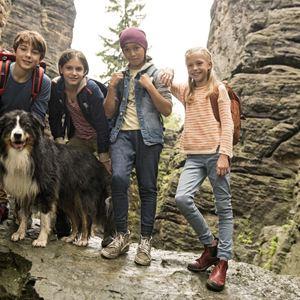 Fünf Freunde und das Tal der Dinosaurier : Bild Allegra Tinnefeld, Amelie Lammers, Marinus Hohmann, Ron Antony Renzenbrink