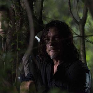 Bild Christian Serratos, Norman Reedus