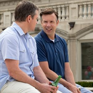Downsizing : Bild Jason Sudeikis, Matt Damon
