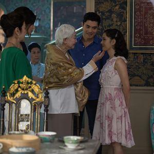 Crazy Rich : Bild Constance Wu, Gemma Chan, Henry Golding, Lisa Lu, Michelle Yeoh