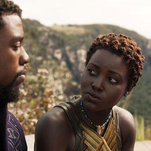 Black Panther : Bild Chadwick Boseman, Lupita Nyong'o