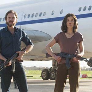 7 Tage in Entebbe : Bild Daniel Brühl, Rosamund Pike