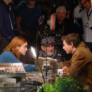 Ready Player One : Bild Olivia Cooke, Steven Spielberg, Tye Sheridan