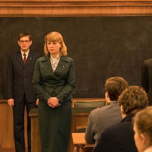 Das schweigende Klassenzimmer : Bild Daniel Krauss, Florian Lukas, Jördis Triebel