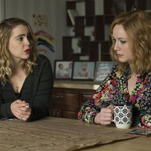 Bild Christina Hendricks, Mae Whitman