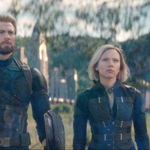 Avengers 3: Infinity War : Bild Chris Evans, Scarlett Johansson