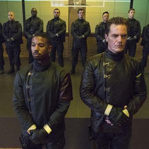 Fahrenheit 451 : Bild Michael B. Jordan, Michael Shannon