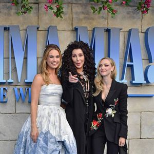 Mamma Mia 2: Here We Go Again : Vignette (magazine) Amanda Seyfried, Cher, Lily James