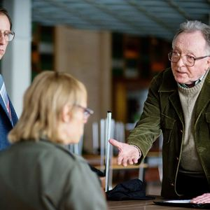 Gundermann : Bild Alexander Scheer, Bjarne Mädel, Peter Sodann