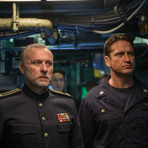 Hunter Killer : Bild Gerard Butler, Michael Nyqvist