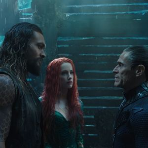 Aquaman : Bild Amber Heard, Jason Momoa, Willem Dafoe