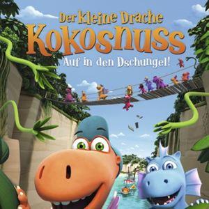 Der kleine Drache Kokosnuss 2 - Auf in den Dschungel! : Kinoposter