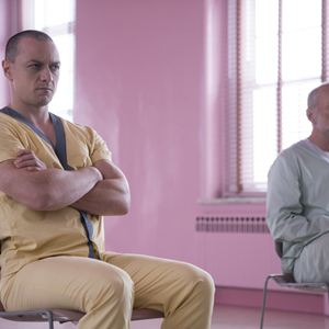 Glass : Bild Bruce Willis, James McAvoy