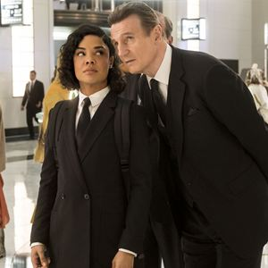 Men in Black: International : Bild Liam Neeson, Tessa Thompson