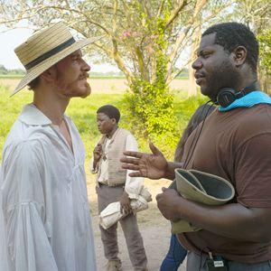 12 Years A Slave : Bild Michael Fassbender, Steve McQueen (II)