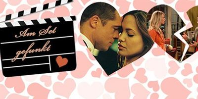 Special zum Valentinstag: Am Set gefunkt!