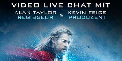 """""""Thor 2 – The Dark Kingdom"""": Exklusiver Live-Chat mit Regisseur Alan Taylor und Produzent Kevin Feige"""