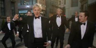 Oscars 2014: Gastgeberin Ellen DeGeneres tanzt im Promo-Video von Regisseur Paul Feig durch die Straßen