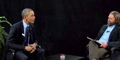 """Anschauen: Barack Obama bei """"Between Two Ferns"""" von """"Hangover""""-Star Zach Galifianakis"""