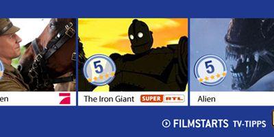 Die FILMSTARTS-TV-Tipps (3. bis 9. Oktober 2014)