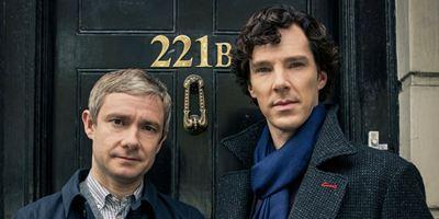 """""""Sherlock"""": Auf dem ersten Szenenbild zur 4. Staffel ist Benedict Cumberbatch auf den Hund gekommen"""