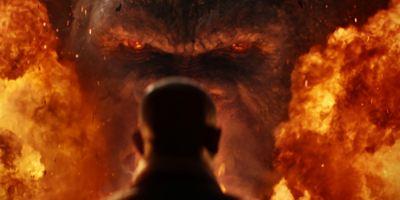 """Monster im Feuer: Neues Konzeptbild zu """"Kong: Skull Island"""" zeigt Verbindung zum Vietnamkrieg"""