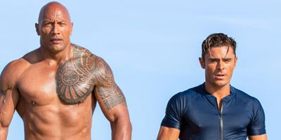 """""""Baywatch"""": Im neuen Trailer knutschen Dwayne Johnson und Zac Efron"""