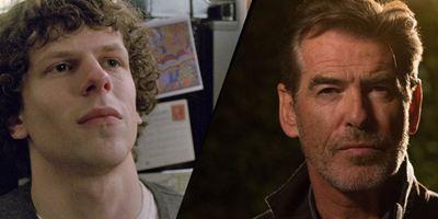 """""""The Medusa"""": Jesse Eisenberg und Pierce Brosnan werden zu Gegenspielern im Künstler-Biopic"""