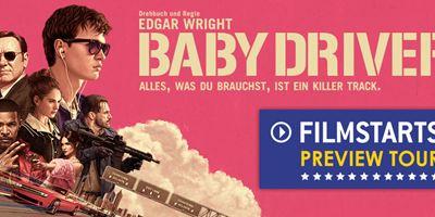 """allourhomes.net-Preview-Tour zu """"Baby Driver"""": Wir laden euch ein, mit uns das Kino-Highlight als Preview zu schauen!"""